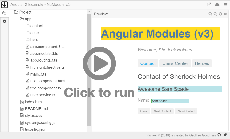 NgModules - ts - GUIDE